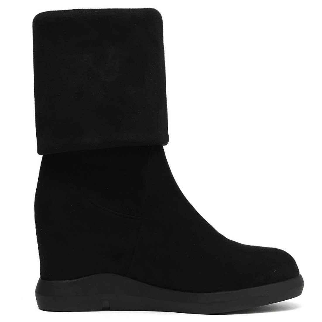 lusam feeling Womens Winter Faux Fur Lining Cozy Warm Water Resistant Lightweight Snow Boots