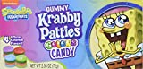 SpongeBob SquarePants Gummy Krabby Patties Colors Candy 2.54 Ounce Box (Pack of 12)