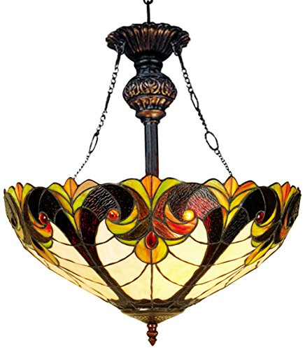 Victorian Glass Pendant Light in US - 5