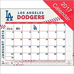Dodgers Calendar.Los Angeles Dodgers 2017 Calendar Lang Holdings Inc 9781469340852