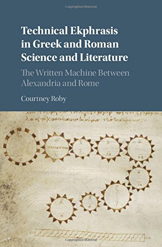 Technical Ekphrasis in Greek and Roman Science and Literature: The Written Machine between Alexandria and Rome
