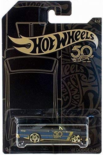 ★Hot Wheels Black /& Gold★ 50th Anniversary /'68 DODGE DART 50 Years// Jahre