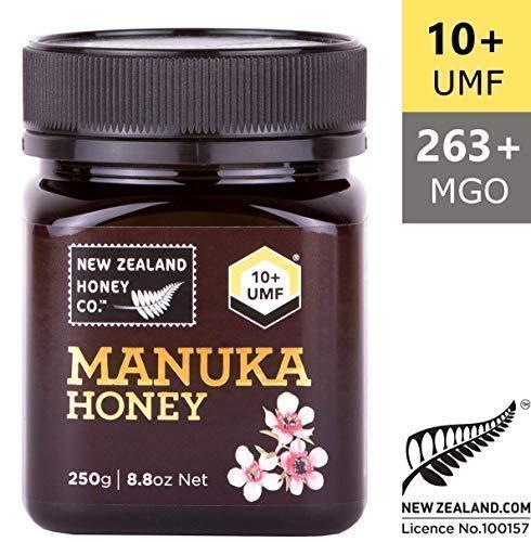 New Zealand Honey - New Zealand Honey Co. Raw Manuka Honey UMF 10+ | MGO 263+, 8.8oz / 250g