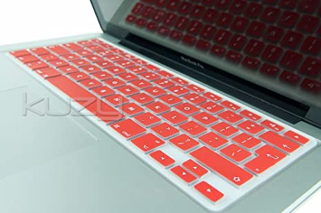 """RED Silicone Keyboard Cover for NEW Macbook Pro 13/"""" A1425  with Retina display"""