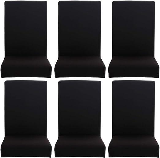 Domybest Fundas para Sillas Pack de 4pcs/6 pcs, Fundas sillas ...