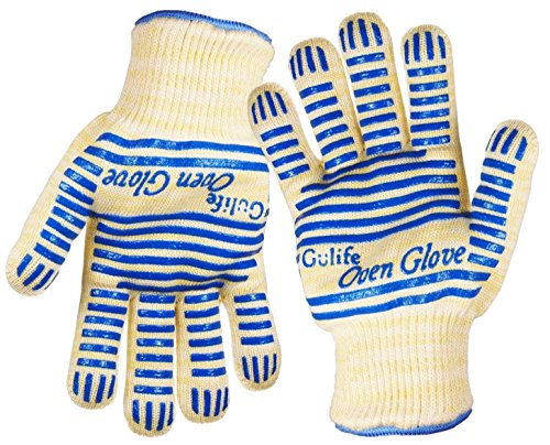 oven gloves long cuff - 6
