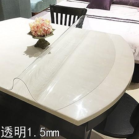 HLPYLTtt Pad Telescopic Folding Oval Table Pvc Waterproof - Oval table pad