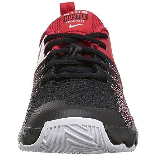 Outlet Nike Team Hustle Quick (GS), Zapatillas de Baloncesto para Niños, Multicolor (BlackWhiteUniversity Red 002), 38 EU nbyshop.top
