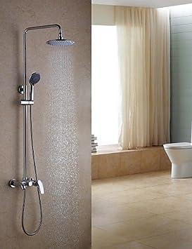 Robinet de douche contemporain - Laiton - Douche à pluie/docetta ...