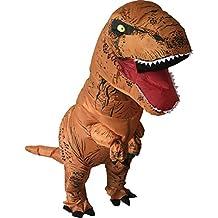 Luckysun Adult T-REX Dinosaur Inflatable Christmas Costume Party Bar Fancy Dress Suit