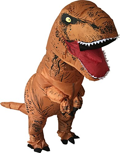 [Luckysun Adult T-REX Dinosaur Inflatable Costume Suit] (Plus Size Adult Halloween Costumes Ideas)
