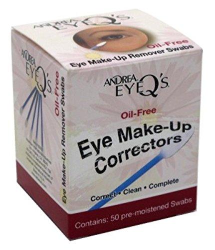 Andrea Eye Q'S Eye Make-Up Correctors Swabs 50'S