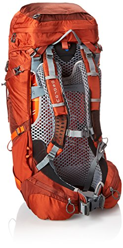 Osprey Men's Atmos AG 50 Backpack, Cinnabar Red, Medium