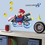 RoomMates RMK3001GM Mario Kart 8 Peel and Stick Giant Wall Decals, 7-Count