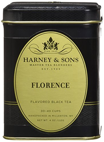 Florence Coffee - Harney & Sons Loose Leaf Black Tea, Florence, 4 Ounce