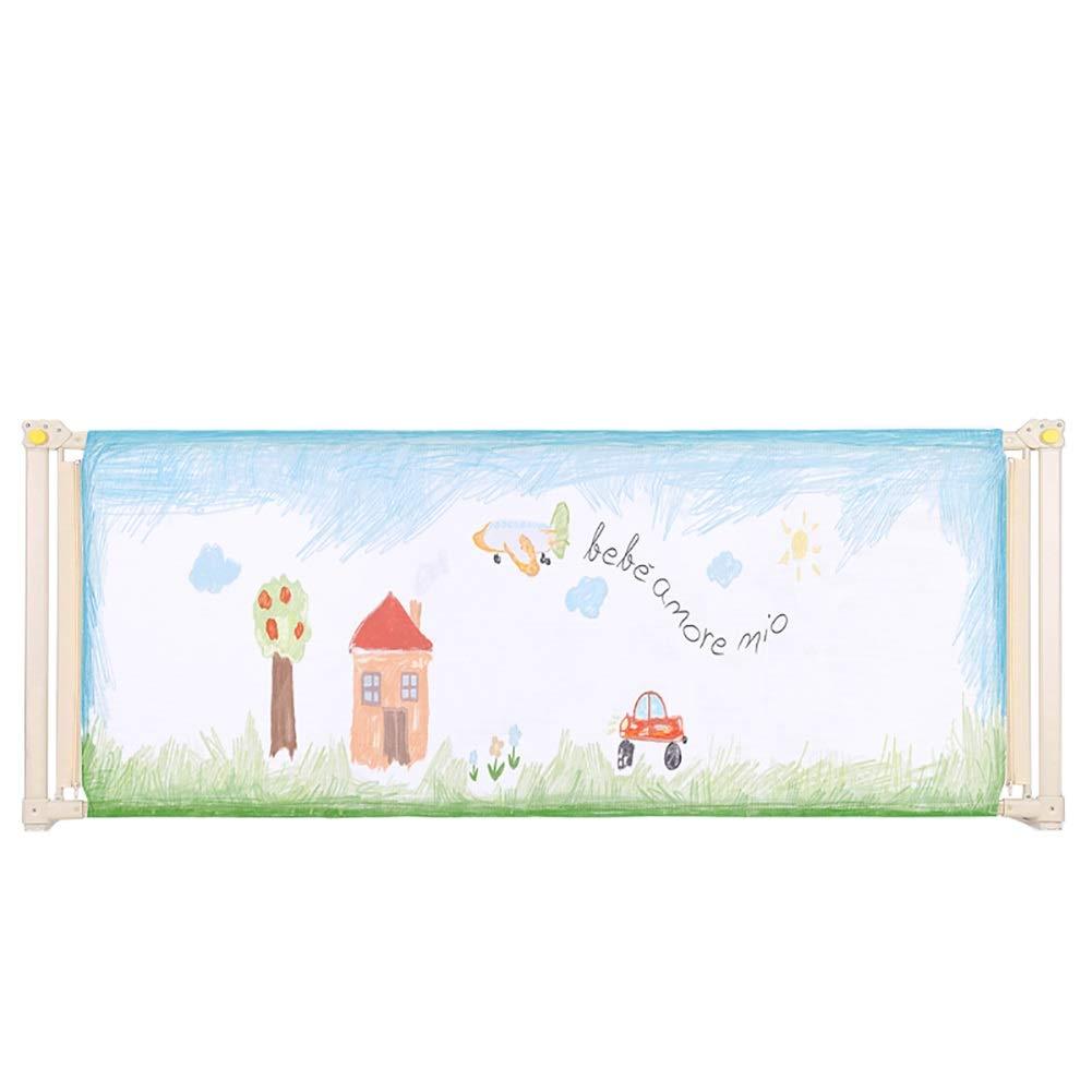 ベッドフェンス- 赤ちゃんの安全ベッドレール、アンチフォールキッズ垂直リフトベッドガードレール、幼児のための調節可能な高さのベッドレールガード、1面) (サイズ さいず : 180cm) 180cm  B07QQQ31GP