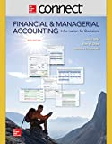img - for Connect 2 Semester Access Card for Financial and Managerial Accounting book / textbook / text book