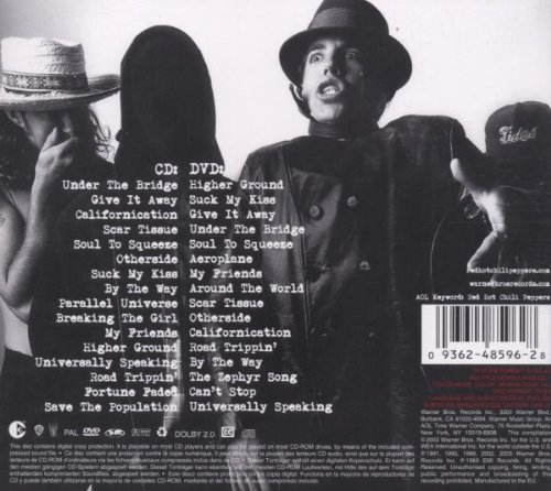 red hot chili peppers greatest hits album download