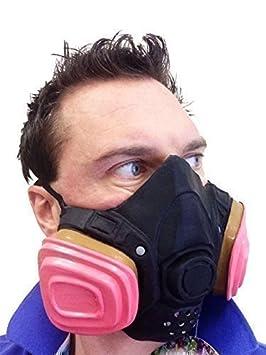 GAS Máscara Bad químico EU TV SHOW Heisenberg Látex Disfraz Walter White Disfraz