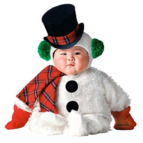 Tom Arma Snow Baby Snowman Signature Toddler Halloween Costume 12-18 -