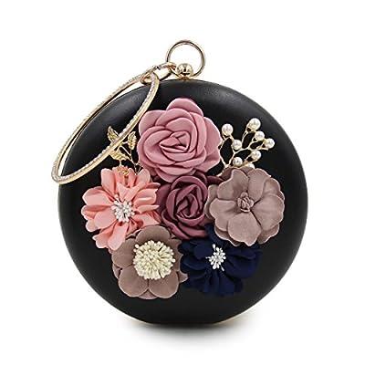 Milisente Women Clutch Bag Lady Clutches Purses Flower Bridal Bag