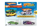 Hot Wheels Color Shifters Cars Undercover with Mega-Duty & Invader Car Set