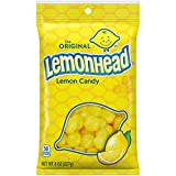 Lemonhead Hard Candy, Lemon, 8 Ounce Bag, Pack of