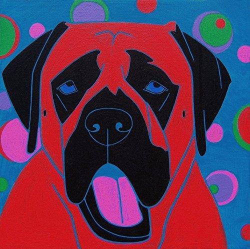 - Dog Pop Art Print by Angela Bond ()