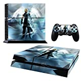 Vanknight Vinyl Wrap Decal Skin Sticker Anime Final Fantasy Cloud for PS4 Playstaion Controllers