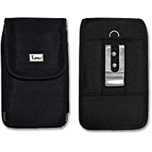 Vertical Heavy Duty Rugged Canvas Belt Clip Case Cover Pouch Holster for Nokia 1110 1112 1208 1606 2135