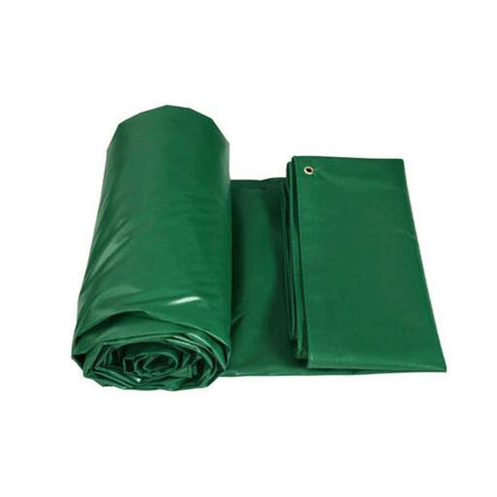 Paño Impermeable Impermeable al Aire Libre de la Lona de PVC Sombra Sombra Protector Solar Paño de la Cortina (Tamaño : 4  6m)
