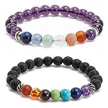 Dream Catcher Men Women 8mm Lava Rock Beaded Bracelet Black Chakra Healing Energy Stone Gemstone Bracelet