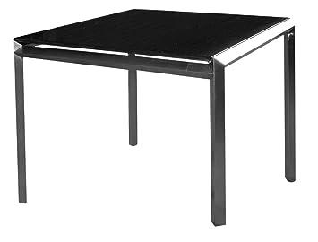tisch 90x90 good x mit stern tisch x cm aluminium wei und silverstar with tisch 90x90 top. Black Bedroom Furniture Sets. Home Design Ideas