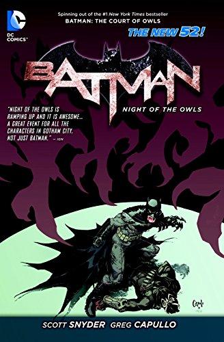Batman: Night of the Owls (The New 52) (Batman (DC Comics))