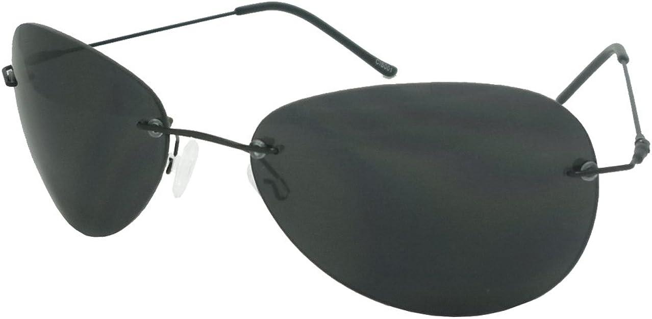 Horatio Style Gafas, Sin montura / Lentes ahumadas: Amazon.es: Ropa y accesorios