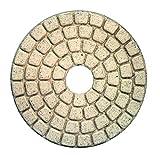Alpha Ceramica Buff Final Polishing Pad for Granite (GP4WHITE 4'')