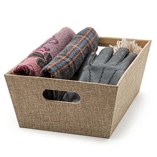 Decorative Storage Box- Fabric Organizer Bins (11