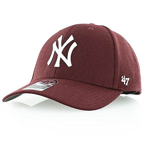 '47 Brand New York Yankees MVP Cap - Dark Maroon - Mvp Cap