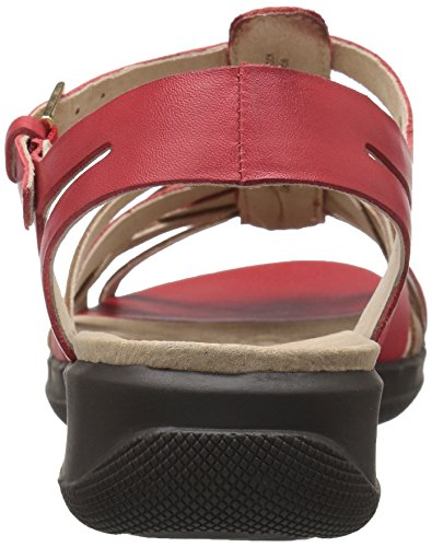 SoftWalk Tan Sandal TAFT Wedge Women's Red r4nq8rgzxw