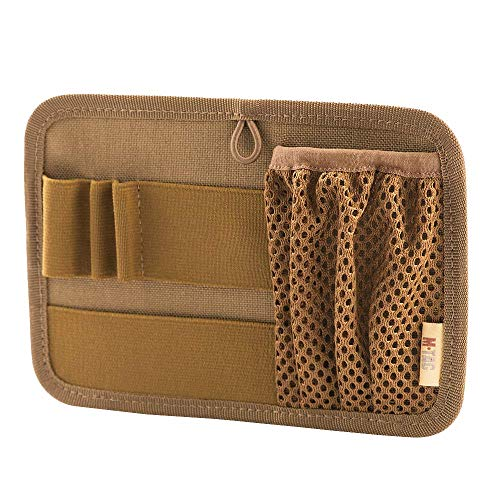 M-Tac Tactical Bag Insert Modular Organizer Utility Admin Pouch Hook Fasteners - Key Holder (Coyote Brown)