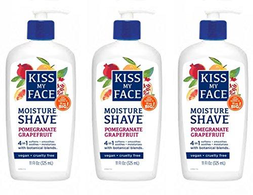 Kiss My Face Signature Bundles Moisture Shave Shaving Cream,