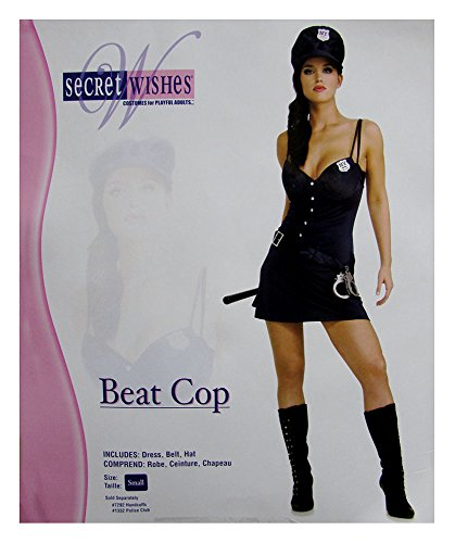 Secre (Adult Sexy Cop Costumes)