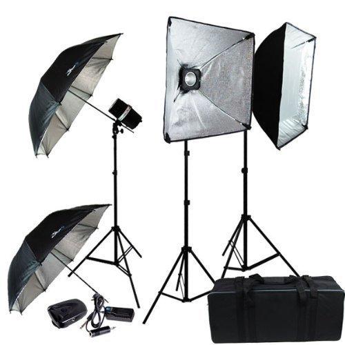 LimoStudio Professional Photography 600W Studio Flash Strobe Light Softbox Lighting Kit, LMS405V2 by LimoStudio