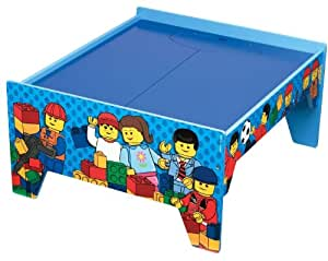 Amazon Com Lego Activity Table And 1 Playmat Toys Amp Games