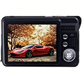 Vker HD Mini Digital Camera with 2.7 Inch TFT LCD Display, Digital Video Camera (Black)