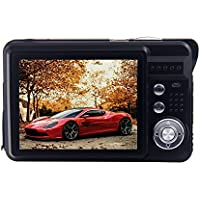 Vker HD Mini Digital Camera with 2.7 Inch TFT LCD Display, Digital Video Camera (Black)