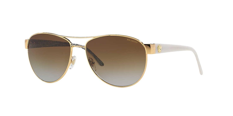 3ef2a2899551 Versace Sunglasses VE2145 Polarized 1002T5: Amazon.co.uk: Clothing