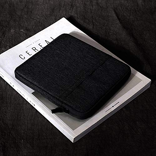 SixiCat Kindle Oasis Sleeve Cover for Both 2019 and 2017 Release 7 Inch Kindle Oasis E-Reader Nylon Case Cover Pouch Travel Carry Bag for 7'' Kindle Oasis 2 3 E-Reader (Dark Grey)