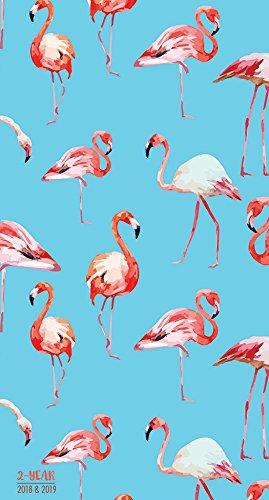 2018-2019 Flamingos 2-Year Pocket Planner