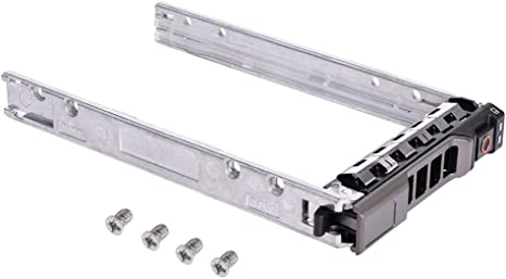 Compatible with Dell G176J PowerEdge R610 T610 R620 R710 T710 R720 R815 R820 2.5 SAS SATA Hard Drive Tray Caddy 4Pack